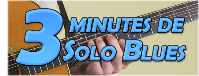 3 minutes de solo blues