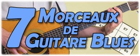 7 morceaux de guitare blues