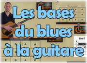 Les bases du blues à la guitare