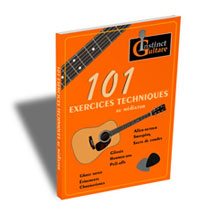 101 exercices techniques au médiator