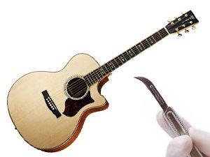 Disséquons une guitare folk !