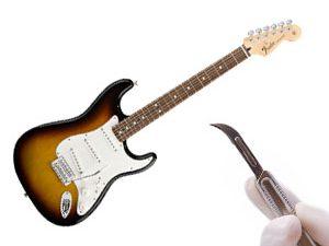 Disséquons une guitare électrique - Fender Stratocaster