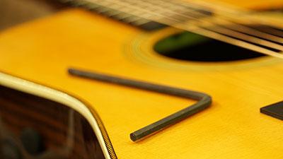 Faites régler votre guitare