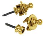 Schaller strap locks - gold