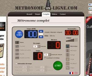 Métronome en ligne