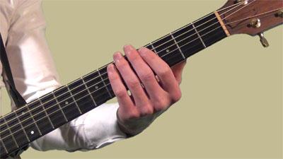 Travaillez les deux mains séparément à la guitare
