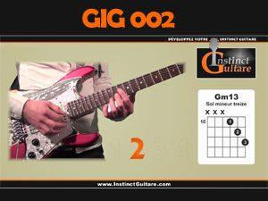 GIG002 - Le Gimmick Instinct Guitare - Rythmique funky