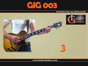 GIG003 - Le Gimmick Instinct Guitare Riff rock