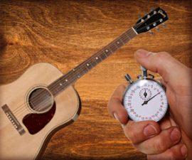 Comment progresser à la guitare quand on manque de temps ?