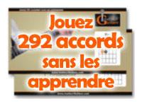 Jouez 292 accords sans les apprendre