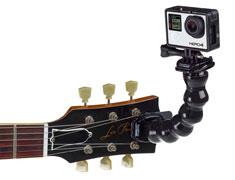 Support de caméra GoPro pour guitare