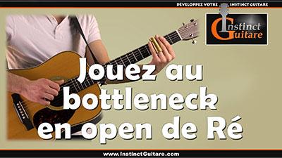 Jouez avec un bottleneck en open de Ré