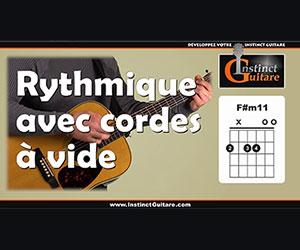 GIG007 - Le Gimmick Instinct Guitare - Rythmique avec cordes à vide