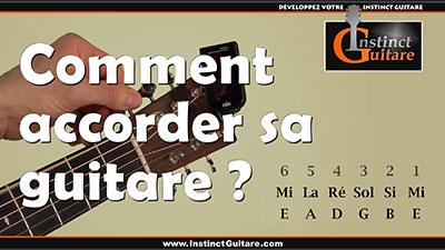 Comment accorder sa guitare ? – Accordeur électronique