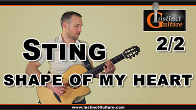 Sting – Shape Of My Heart – 2ème partie