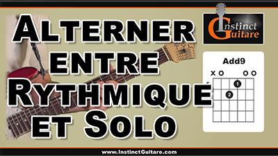 Astuce impro – Alterner entre rythmique et solo