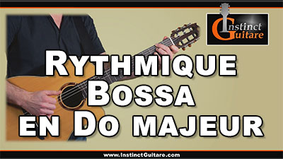 Rythmique bossa en Do majeur