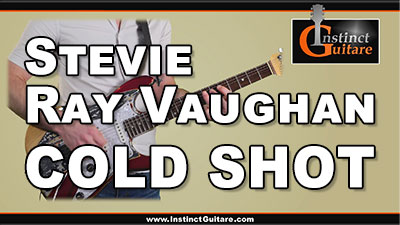 Cold Shot (Stevie Ray Vaughan) à la guitare