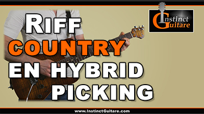 Riff country en hybrid picking