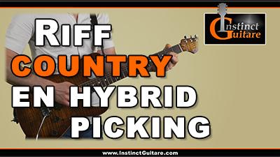 Riff country en hybrid picking