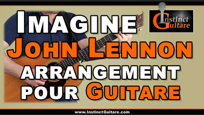 Imagine (John Lennon) – Arrangement pour guitare
