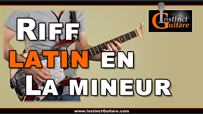 Riff latin en La mineur